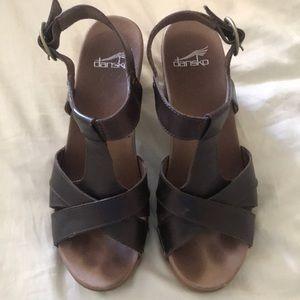 Dansko Leather Sandals 38